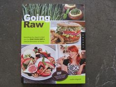 GOING RAW BY JUDITA WIGNALL - My favorite cookbook! Raw Food Diet, Vegan Gifts, Raw Food Recipes, Gift Guide, Christmas Gifts, Beef, Gift Ideas, People, Xmas Gifts