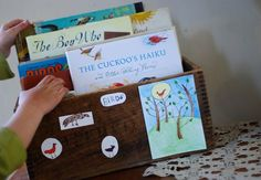 good for theme books on nature table