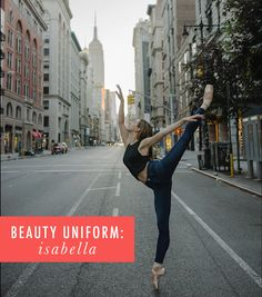 Ballerina Isabella Boylston shares her brow obsession and the lipstick she wears for each ballet character. Isabella Boylston, Beauty Uniforms, Cup Of Jo, American Ballet Theatre, Mac Eyeshadow, Hair Color Dark, Beauty Tutorials, Ballerina, Brows