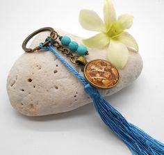 Ganesh Key Ring and Key Chain in Antqiue Brass - Lord Ganesh, Ganesh, Key Ring…