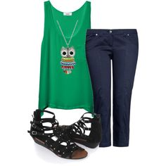 Owls!!, created by maria-calcei on Polyvore