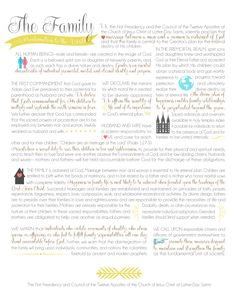 Family Proclamation | free printable from www.lollyjane.com - LOVE, LOVE, LOVE!