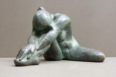 AUDFRAY Etienne, sculpture en bronze - Laurence - 1/8 - 1998