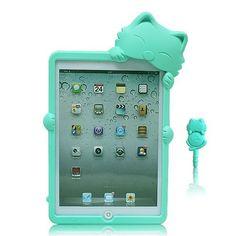 Boriyuan OEM Blue 3D Cat Gel Silicone Rubber Case Cover Skin for iPad Mini 7.9 inch Back Case by Boriyuan, http://www.amazon.com/dp/B00BS29CAS/ref=cm_sw_r_pi_dp_E1rUrb0TWXXGG