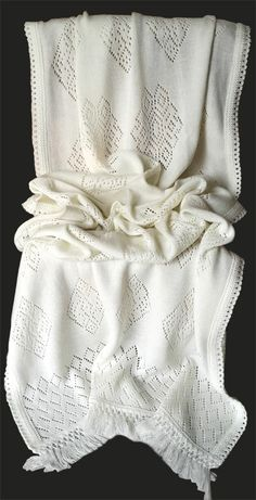 Warm White woolen stole Material: Soft Wool Code: ST-001 Price: Rs. 999/- Shop at http:/www.facebook.com/KuckoosNest
