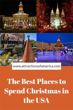 27 Most Awesome Christmas Destinations in the USA | USA Christmas trips | Christmas trips USA | where to spend Christmas in the USA| Christmas Travel Destinations USA | Christmas travel ideas | #ChristmasTravel #AttractionsofAmerica