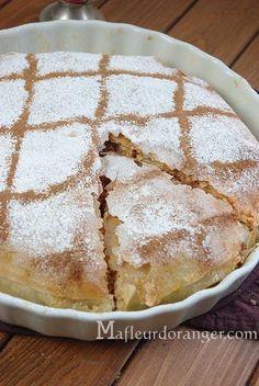 Pastilla traditionnelle : au poulet et amandes