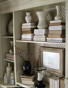 Simple Details: $6 diy bookcase makeover