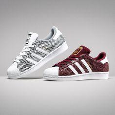 Jetzt wird es wild! #Adidas verpasst dem Kultschuh ein neues Gewand: Junior adidas Superstar Snake in zwei verschiedenen Colorways!