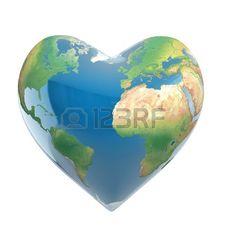 Pianeta terra a forma di cuore http://www.biogreengate.it/
