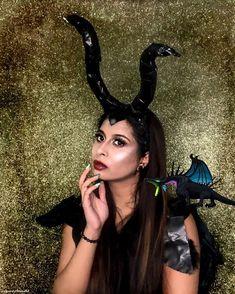 """I too shall bestow a gift on the child "" Maleficent . . . . #BronxHalloweenChallenge #GetBronxed #Halloweenmakeuo #makeuphalloween…"