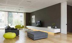 strak zwevend tv meubel incl indirecte LED
