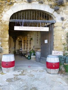 Les Caves du Chateau Lourmarin, Luberon Provence, France
