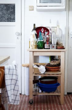 Side-table carts