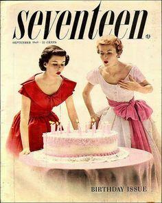 Vintage Seventeen Magazine Covers... #adore