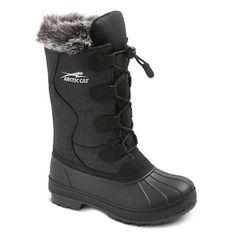 Arctic Cat Girls' Fur Top Winter Boots