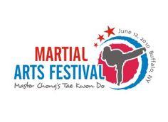 Martial art in a beautiful logo way