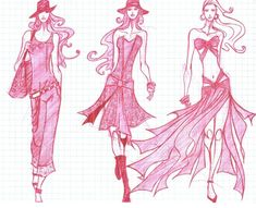 Fashion-sketch-as-the-most-important-in-fashion1
