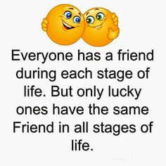 But only lucky ones have the same Friend in all stages of life. :) I <3 all my BFFs.