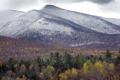 Caroll, NH fall colors, The Atlantic