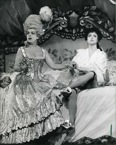 Sarah Brightman & Rosemary Ashe. C. October 26th, 1986.