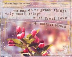 Small things with great love... ♥♥