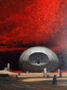 Dune art by John Shoenherr