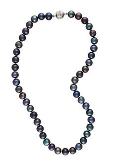 "ELEKTRA DESIGNS 18"" Knotted Pearl Necklace"