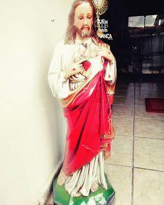 Imagem do Sagrado Coração de Jesus 60 cm GTwins.Net - Artigos Católicos. Fone: 83 3624-3934