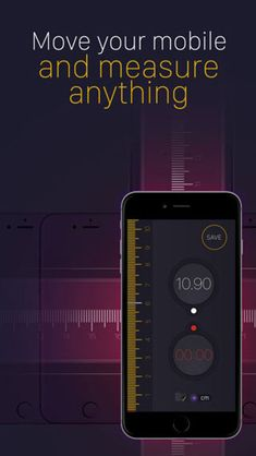 App Tape Measure PRO that will convert your iPhone to a ruler measuring tool! Applications Applications professional Apps iPad Apps iPhone Measurement applications News Apps Programs   #Tech #Technology #Science #BigData #Awesome #iPhone #ios #Android #Mobile #Video #Design #Innovation #Startups #google #smartphone  