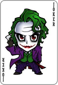 Chibi Joker by nightgrowler.deviantart.com on @deviantART