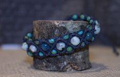 A personal favorite from my Etsy shop https://www.etsy.com/listing/271649884/macrame-bracelet-jasper-beaded-bracelet