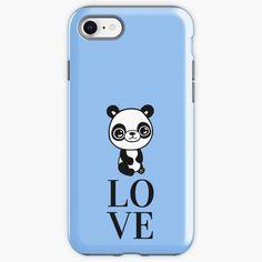 """Cute Panda Love"" iPhone Case & Cover by jakezbontar | Redbubble Panda Love, Cute Panda, Ecommerce Web Design, Great Birthday Gifts, Love Your Life, Love S, Iphone Case Covers, Iphone 11, Finding Yourself"