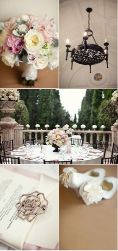 I want to get married at the beautiful Villa Del Sol D'Oro!!! Swoon!!!!