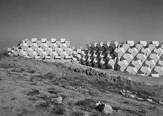 The Ramot Polin neighborhood is a housing project designed by the Polish-born Israeli architect Zvi Hecker, commissioned by the Israeli government in the euphoric aftermath of the Six Day War. The project, which resembles a beehive, is an avant-garde architectural experiment on morphology as well as construction