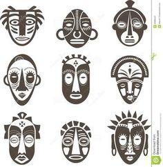 http://thumbs.dreamstime.com/z/afrikanische-schablonen-eingestellt-55885241.jpg