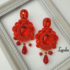 Soutache Jewelry, Instagram, Earrings, Fashion, Templates, Stud Earrings, Necklaces, Accessories, Clocks