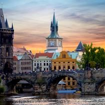 Charles Bridge, Czech Republic: If you ever venture to Prague, Czech Republic, you can't miss Charles Bridge. One of Prague's best-known sights, the structure goes over the Vltava river. Places In Europe, Places To Travel, Travel Destinations, Time Travel, Charles Bridge, Cheap Places To Go, Places To See, Best Vacation Spots, Best Vacations