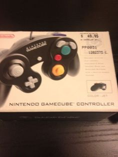 Nintendo Game Cube Gamepad Controller Jet Black (DOLACK2) Compatible Wii/ Wii U