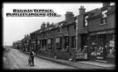 Railway Terrace, Purfleet  Date: about 1910
