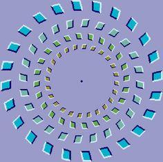 Resultado de imagem para ilusão de óptica
