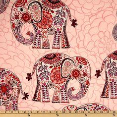 Valori Wells Karavan Marrakech Blossom Pink #elephants #baby #boho