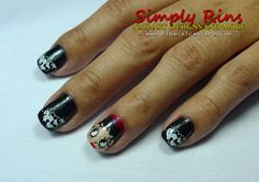 Betty Boop nails