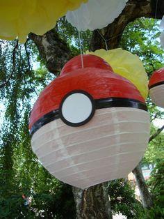 Pokemon paper lanterns!