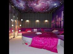 I'd love to have this ceiling in my bedroom