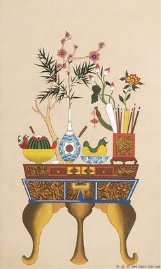 teaspoon heaven ♡ com Korean Traditional, Traditional Art, Korean Painting, Chinese Festival, Korean Art, Traditional Paintings, Drawing Skills, Dragon Art, Light Painting