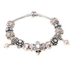 Alabaster Pandora Bracelet