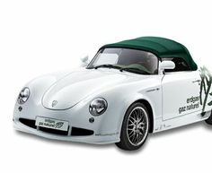 The Porsche 356 roadster, last offered in 1965, is considered one of the company's all-time great models. A faithful replica takes the classic look onto the cutting edge, moving from gasoline to CNG and biogas.  The 1.6 liter, four-cylinder engine gives the turbo-charged vehicle a top speed of 130 mph, but it gets the equivalent of 56 miles per gallon in city and highway driving. #cng_now #IGS