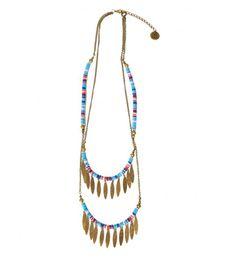 Un collier tribal
