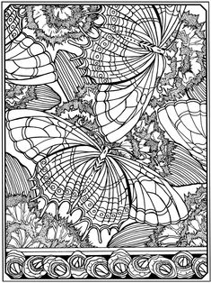 ADULT FLOWERS COLORING BOOK PAGESMore Pins Like This At FOSTERGINGER @ Pinterest